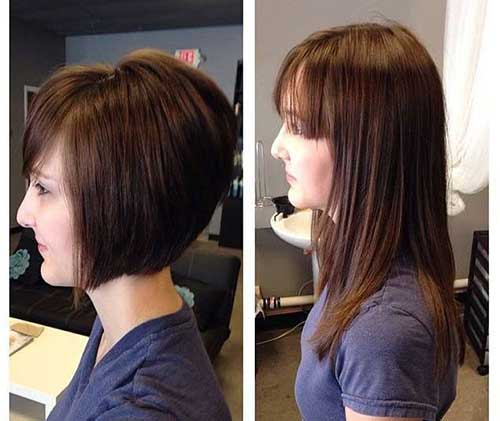 Graduated Bob Hairstyle