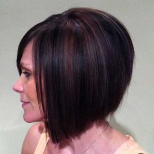 Images of Highlighted Inverted Bob Cut