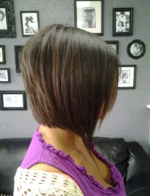 Inverted Layered Bob Cut