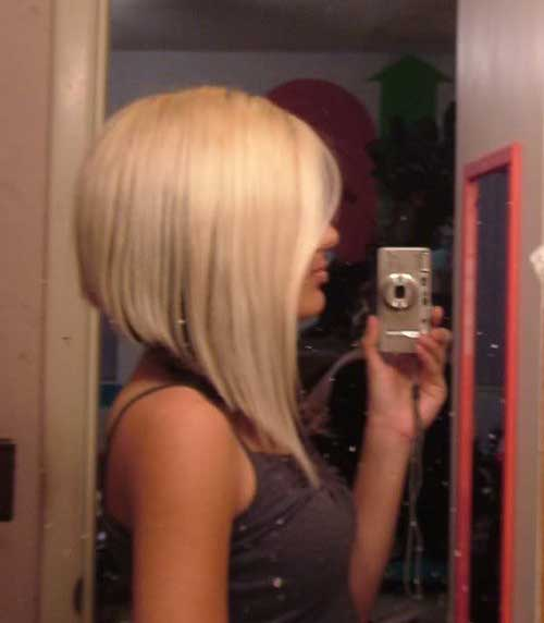 Dramatic Inverted Bob Haircut Pictures