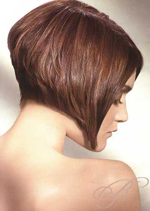 Inverted Chinese Bob Hair Cut