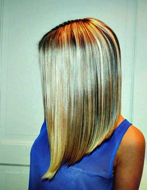 Best Long Inverted Bob Images