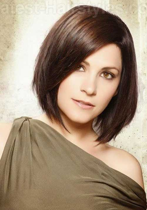 Chic Side Swept Bob Haircuts Pictures