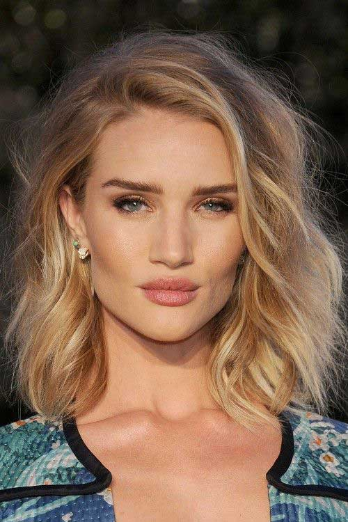 Soft Wavy Long Bob Baby Blonde Hair Color Ideas
