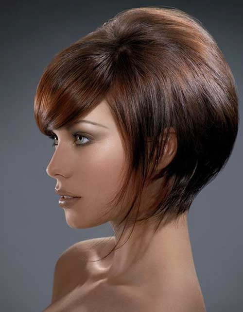 Cool Stacked Bob Haircuts Pictures