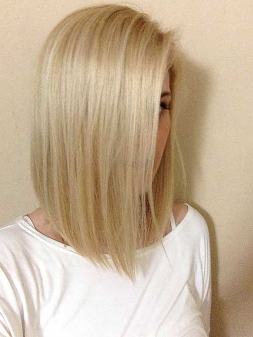 Chic Straight Short Bob Haircuts for Thin Hair