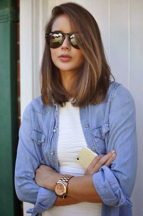 Stylish Long Bob Hair Color Ideas