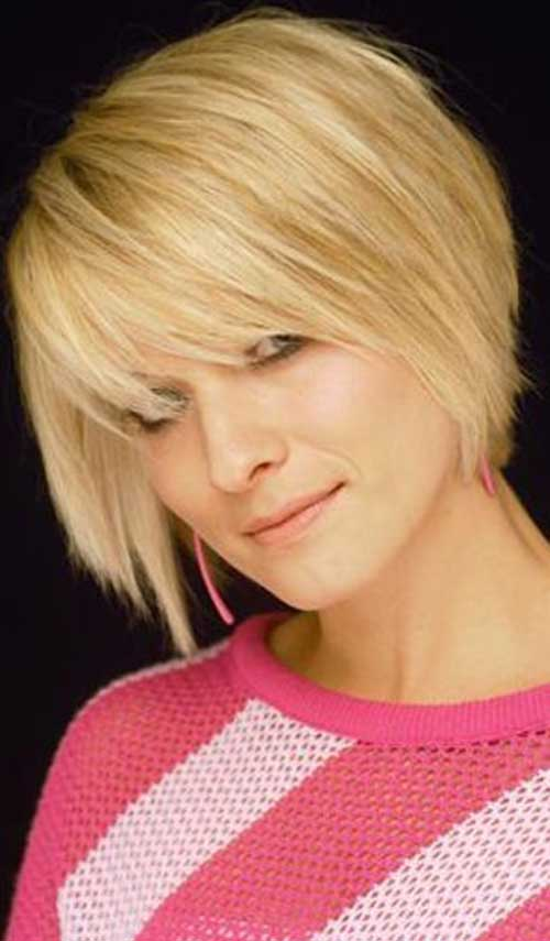 Bangs Hairstyles for Short Bob Hair