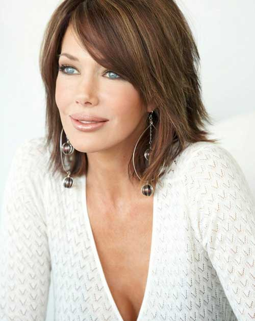 Best Layered Bob for Fine Hair
