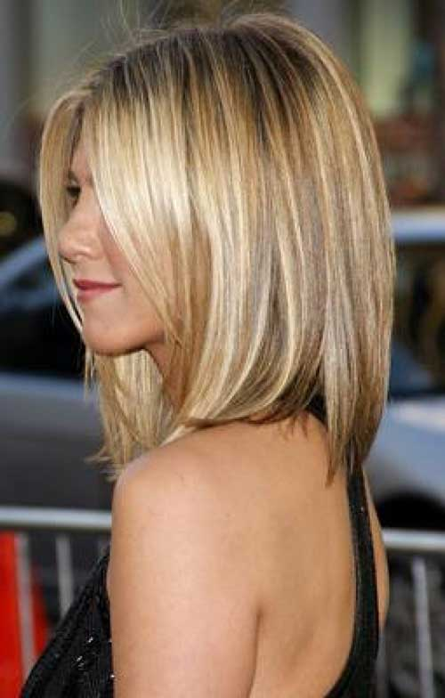 Best Blonde Medium Bob Highlighted Hair