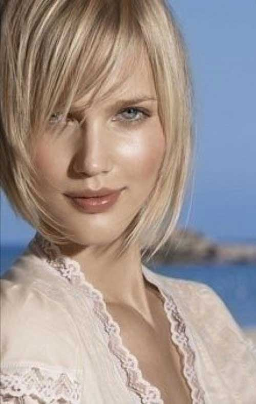 Light Blonde Bob Hairstyles Images