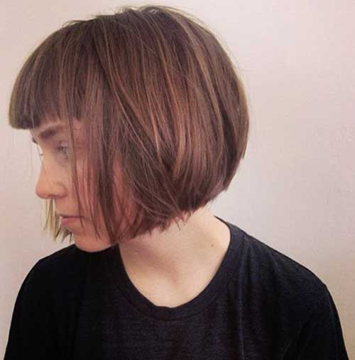 Best Bob with Bangs