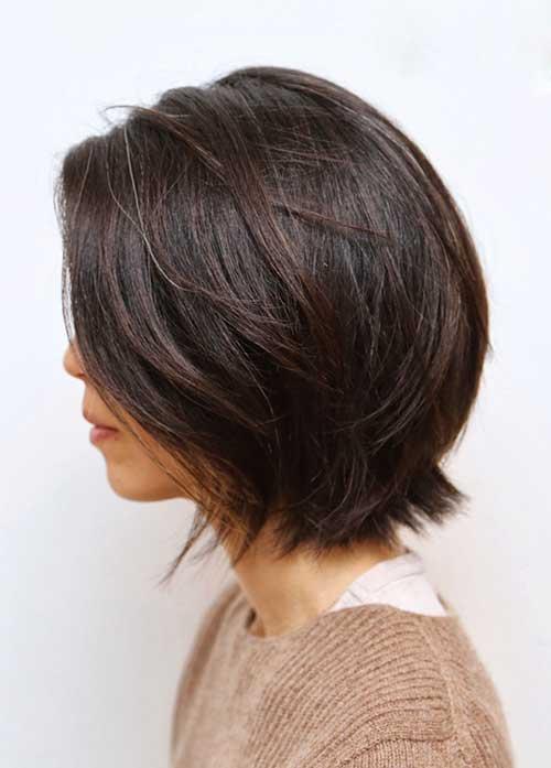 Best Brunette Short Bob Cuts