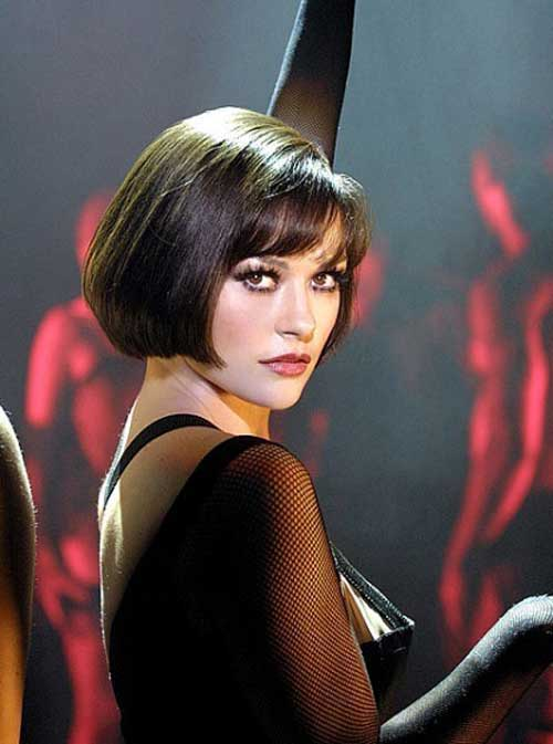 Catherine Zeta Jones Short Bob Hair