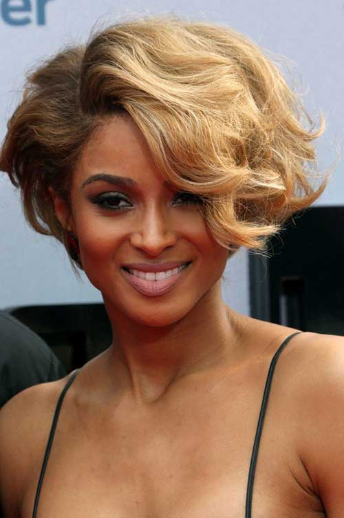 Ciara Shoulder Curly Bob Hair