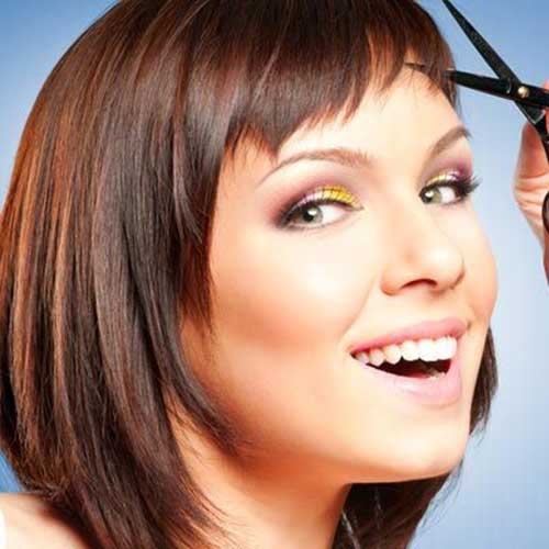 Best Classic Bob Hairstyles with Bangs