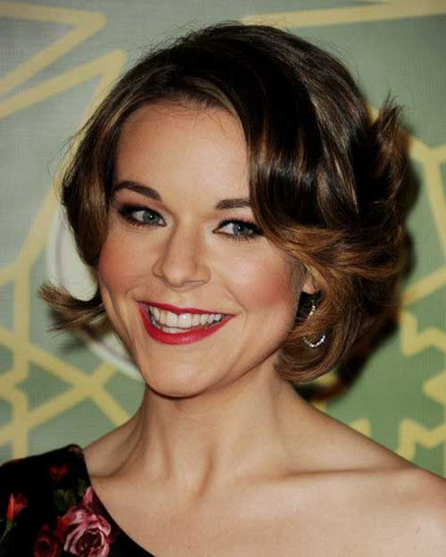 Best Curly Classy Bob Hairstyles