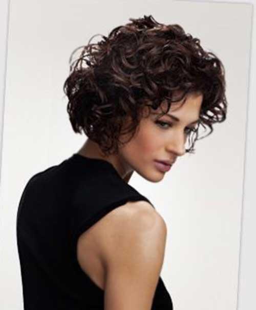 Curly Hair Short Bob Cuts