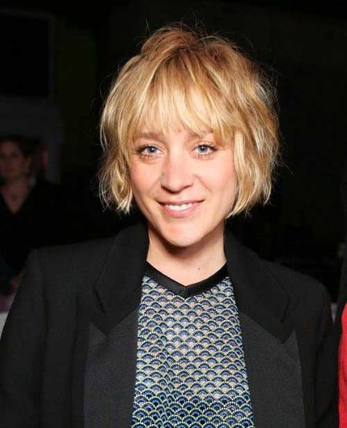 Cute Shaggy Bob Hairstyle