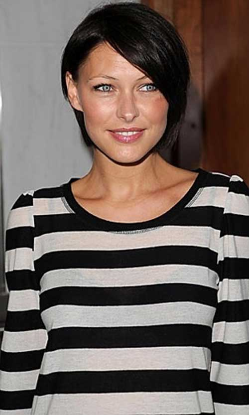 Emma Willis Dark Bob Hair