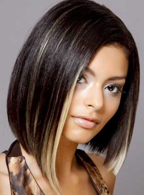 Best Fine Bob Hairstyles with Highlights