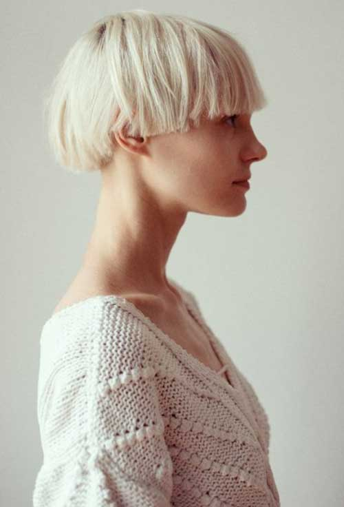 Girls Pixie Bob Haircut
