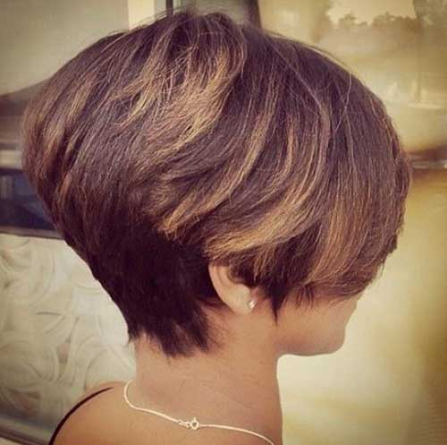 Graduated Short Bob Hairstyles