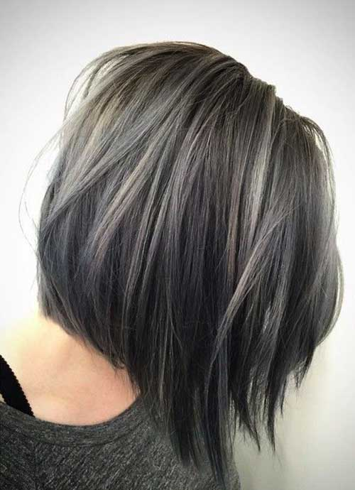 Grey Bob Hair Cuts