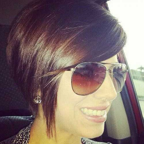 Straight Inverted Bob Hair Style