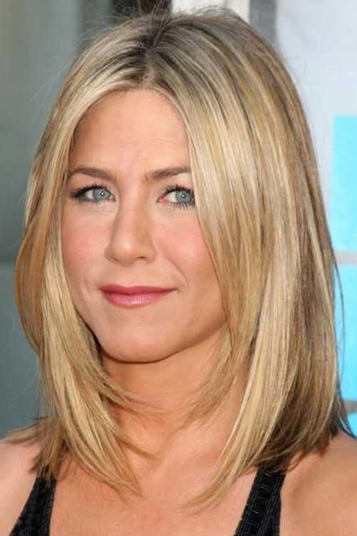 Jennifer Aniston Shoulder Length Bob Hair