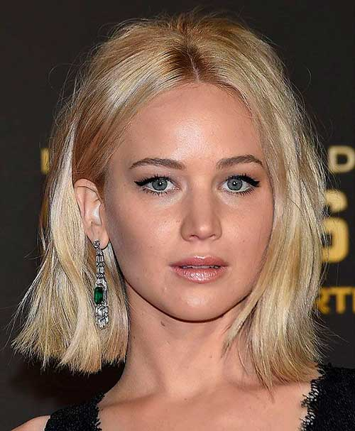 Jennifer Lawrence Bob 2016