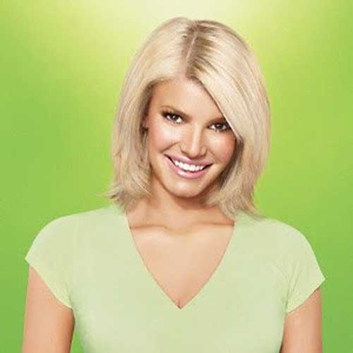 Jessica Simpson Bob Hair Pictures