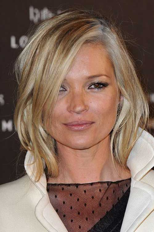 Kate Moss Shaggy Bob Hair