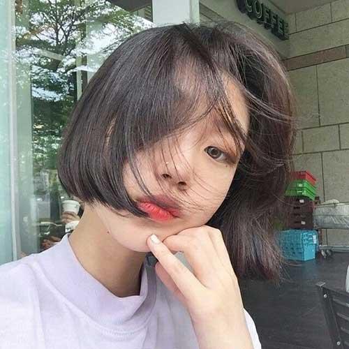 Korean Straight Hair Bob Cuts