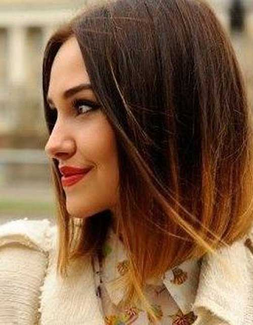 Long Ombre Bob Straight Hair