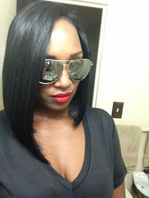 Best Long Bob for Black Women