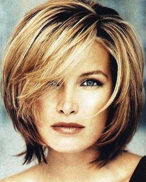 Latest Medium Bob Hairstyles for Women Over 50