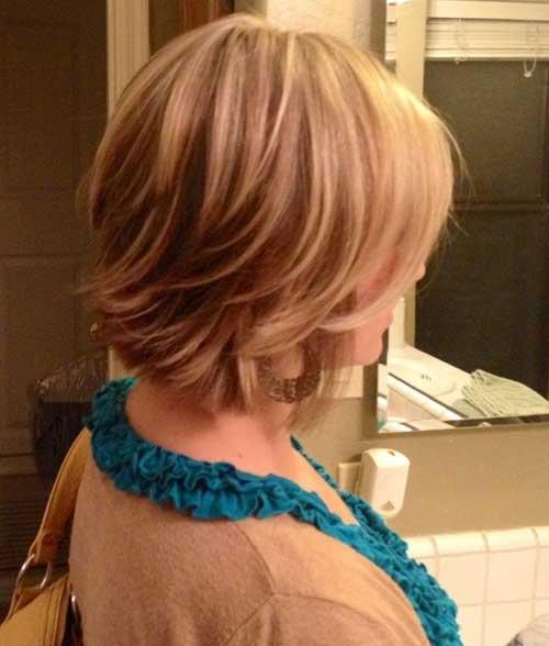 Nice Layered Bob Hairstyles Ideas