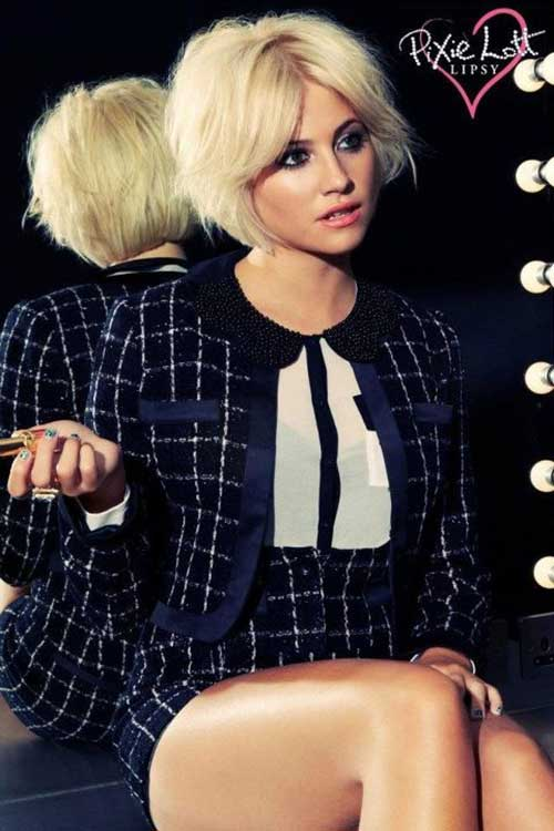 Pixie Lott Hairstyles Bob Cut