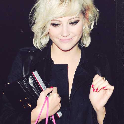 Chic Pixie Lott Bob Haircut