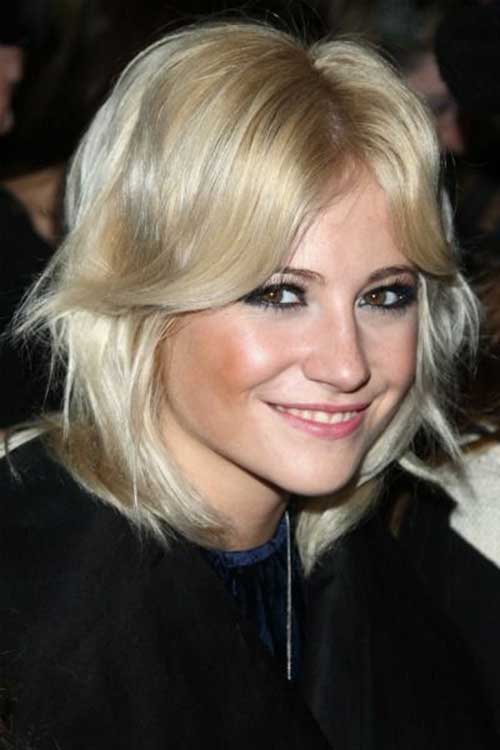 Pixie Lott Fine Hair Bob Cuts