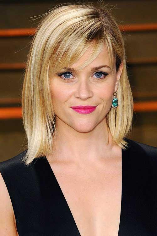 Reese witherspoon Long Straight Bob