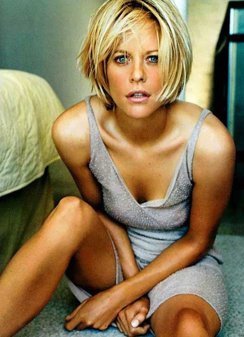 Shaggy Straight Bob Hairstyles 2015