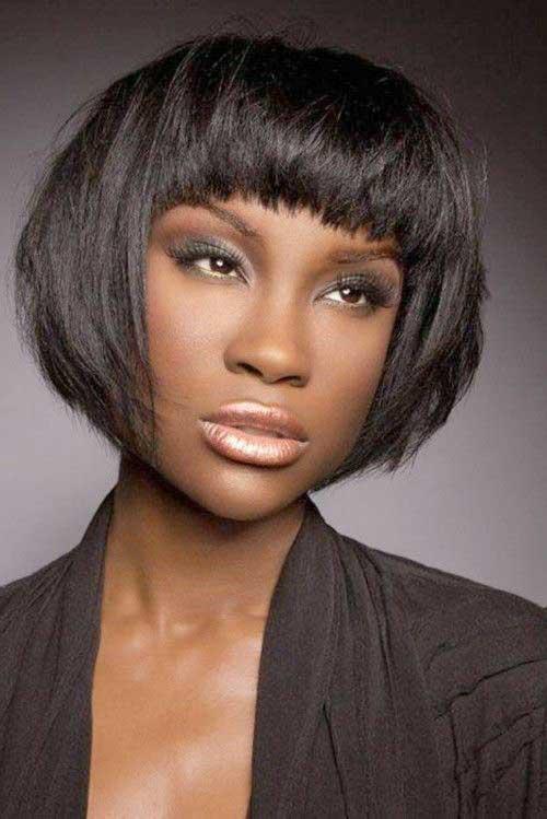 Short Bob African American Women