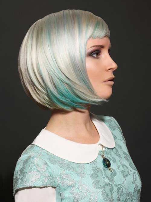 Short Colored Bob Hair Images