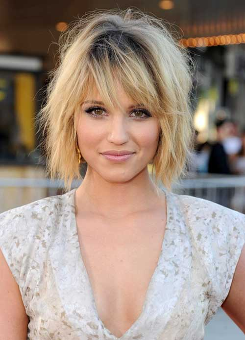 Short Choppy Layered Bob Hairstyles for Thick Hair