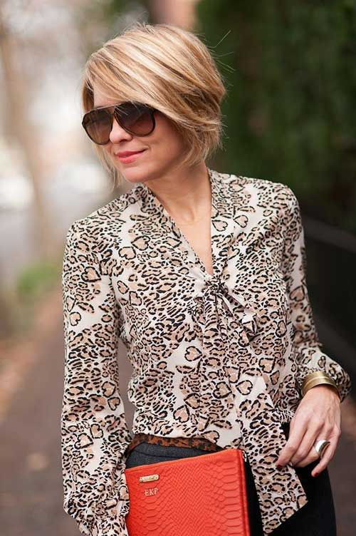 Chic Short Layered Bob Hairstyles