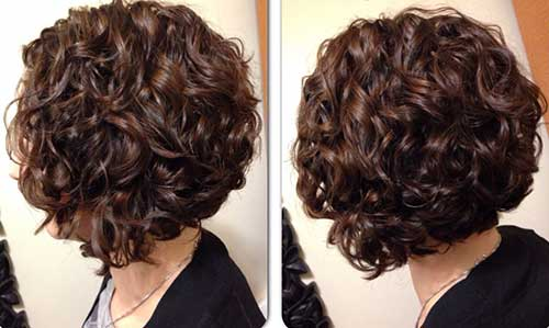 Best Short Thick Curly Bob