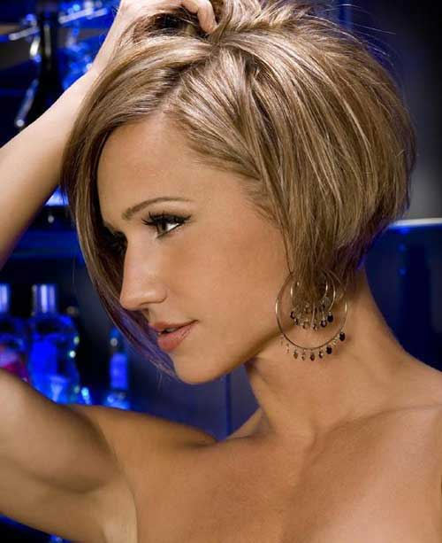Stacked Bob Hairstyle 2015