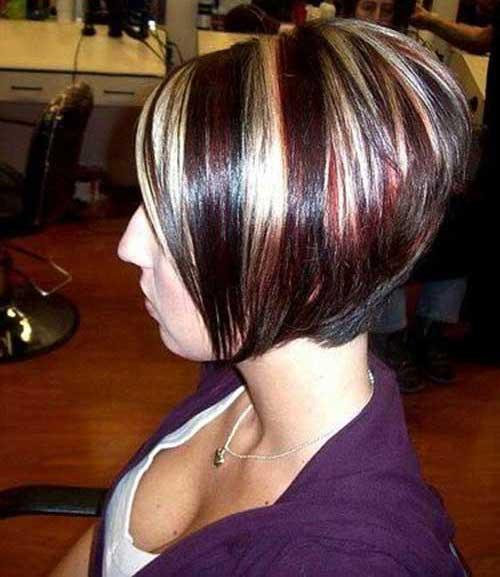 Stacked Inverted Bob Haircuts